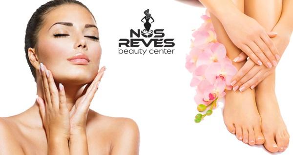 Florya Nos Reves Beauty Center'da leke, akne, anti aging bakımı, medikal cilt bakımı ve el-ayak bakımı uygulamaları 59,90 TL'den başlayan fiyatlarla! Fırsatın geçerlilik tarihi için, DETAYLAR bölümünü inceleyiniz.