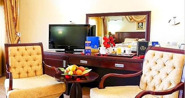 Silivri Eser Diamond Hotel'de kahvaltı dahil konaklama seçenekleri 290 TL'den başlayan fiyatlarla! Fırsatın geçerlilik tarihi için DETAYLAR bölümünü inceleyiniz.