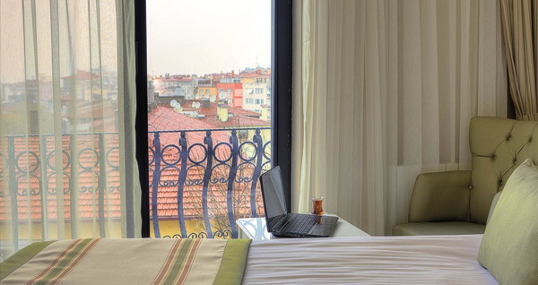 Çankaya Aldino Residence Ankara'da kahvaltı dahil çift kişilik 1 gece konaklama 239 TL! Fırsatın geçerlilik tarihi için, DETAYLAR bölümünü inceleyiniz.