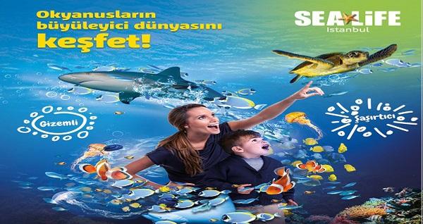 SEA LIFE İstanbul için giriş biletleri