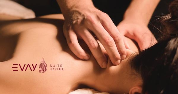 Evay Suite Hotel Spa'da ıslak alan kullanımı dahil masaj seçenekleri! Fırsatın geçerlilik tarihi için DETAYLAR bölümünü inceleyiniz.