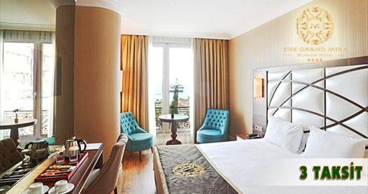 Kartal The Grand Mira Hotel'de çift kişilik 1 gece konaklama, kahvaltı ve havayolu transferi seçenekleri 129 TL'den başlayan fiyatlarla! 30 Kasım 2016 tarihine kadar, haftanın her günü geçerlidir.