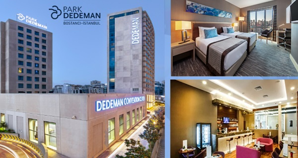 Park Dedeman Bostancı Hotel'de çift kişilik 1 gece konaklama 239 TL'den başlayan fiyatlarla! Fırsatın geçerlilik tarihi için DETAYLAR bölümünü inceleyiniz.