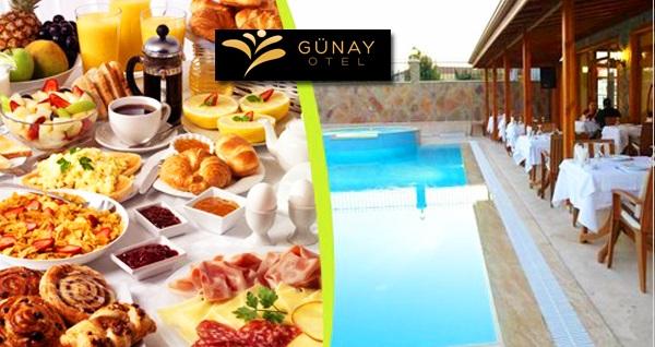 Ağva Günay Hotel'de açık büfe kahvaltı veya serpme kahvaltı 29 TL! Fırsatın geçerlilik tarihi için DETAYLAR bölümünü inceleyiniz.