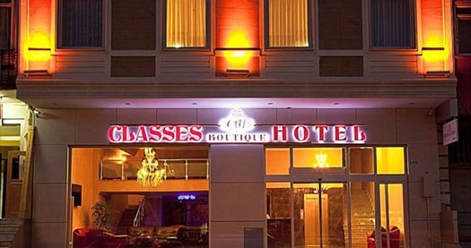 Anadolu yakasının gözdesi Pendik Classes Boutique Hotel'de çift kişilik 1 gece konaklama 300 TL yerine 169 TL! Fırsatın geçerlilik tarihi için, DETAYLAR bölümünü inceleyiniz.