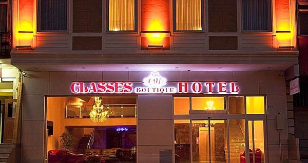 Anadolu yakasının gözdesi Pendik Classes Boutique Hotel'de çift kişilik 1 gece konaklama 300 TL yerine 199 TL! Fırsatın geçerlilik tarihi için, DETAYLAR bölümünü inceleyiniz.
