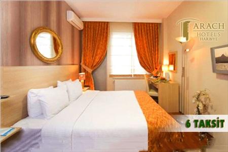 Arach Hotel Harbiye'de kahvaltı dahil çift kişilik 1 gece konaklama keyfi 129 TL'den başlayan fiyatlarla! 31 Ağustos 2014 tarihine kadar opsiyonları dahilinde haftanın her günü geçerlidir. Fırsata, standart odada çift kişilik 1 gece konaklama ve kahvaltı dahildir.