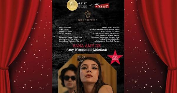 'Bana Amy De, Amy Winehouse Müzikali' giriş biletleri 120 TL yerine 49 TL! 22 Aralık 2019 | 20:00 | Nazım Hikmet Kültür Evi