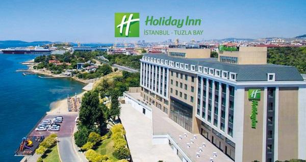 Holiday Inn Istanbul - Tuzla Bay Hotel'de farklı oda tiplerinde çift kişilik 1 gece konaklama seçenekleri 320 TL'den başlayan fiyatlarla! Fırsatın geçerlilik tarihi için DETAYLAR bölümünü inceleyiniz.