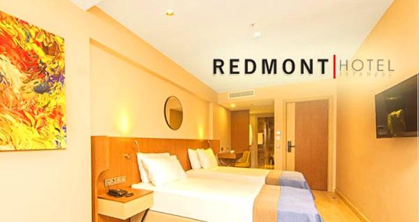 Nişantaşı Redmont Hotel'de kahvaltı dahil çift kişilik 1 gece konaklama keyfi 279 TL'den başlayan fiyatlarla! Fırsatın geçerlilik tarihi için DETAYLAR bölümünü inceleyiniz.