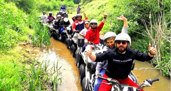 Zebra ATV Safari ile Şile'de ATV turu kişi başı 129,90 TL'den başlayan fiyatlarla! Fırsatın geçerlilik tarihi için DETAYLAR bölümünü inceleyiniz.