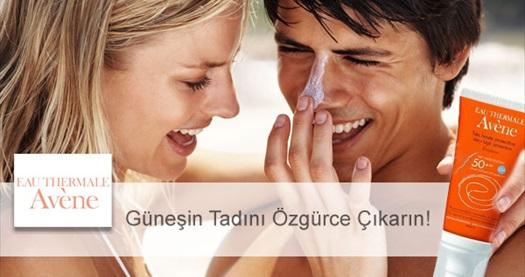 Güneşin keyfini özgürce çıkarın! Avene SPF 50+ Güneş Kremi (50 ml) 1 adet 16,90 TL 2 adet 32,90 TL! Tüm Türkiye'ye kargo hizmeti vardır.