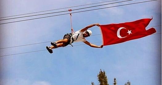 Türkiye'nin en yükseği Safranbolu Zipline için giriş biletleri 20 TL'den başlayan fiyatlarla! Fırsatın geçerlilik tarihi için DETAYLAR bölümünü inceleyiniz.