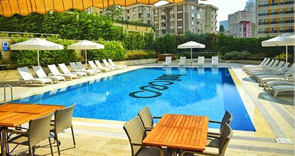 Bof Hotels Ceo Suites Ataşehir'de açık havuz kullanımı ve hamburger menüsü 75 TL'den başlayan fiyatlarla! Fırsatın geçerlilik tarihi için DETAYLAR bölümünü inceleyiniz.