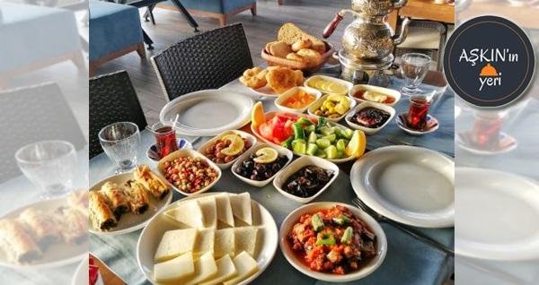 Güzelbahçe Aşkın'ın Yeri'nde sınırsız çay eşliğinde serpme kahvaltı keyfi 29,90 TL! Fırsatın geçerlilik tarihi için, DETAYLAR bölümünü inceleyiniz.