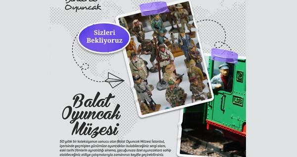 Balat Oyuncak Müzesi'ne giriş biletleri
