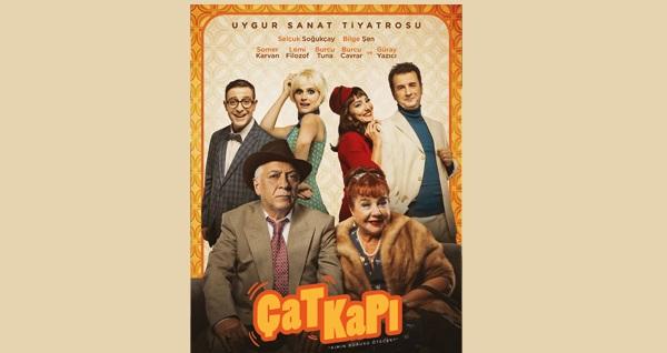 """Uygur Sanat Tiyatrosu'ndan 'Çat Kapı' oyununa biletler 79,25 TL yerine 48 TL! Tarih ve konum seçimi yapmak için """"Hemen Al"""" butonuna tıklayınız."""