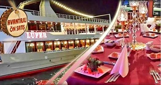 Lüfer Tekneleri'nde canlı fasıl ve zengin menü eşliğinde Boğaz esintili iftar menüsü 55 TL'den başlayan fiyatlarla! Fırsat 27 Mayıs - 24 Haziran 2017 tarihleri arasında, iftar saatinde geçerlidir.