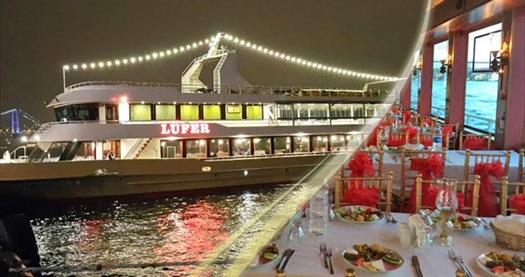 Lüfer Tekneleri'nde canlı fasıl ve zengin menü eşliğinde Boğaz esintili iftar menüsü 39,90 TL'den başlayan fiyatlarla! Fırsat 27 Mayıs - 24 Haziran 2017 tarihleri arasında, iftar saatinde geçerlidir.