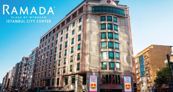 Ramada Plaza By Wyndham Istanbul City Center'da çift kişilik 1 gece konaklama seçenekleri 309 TL'den başlayan fiyatlarla! Fırsatın geçerlilik tarihi için DETAYLAR bölümünü inceleyiniz.