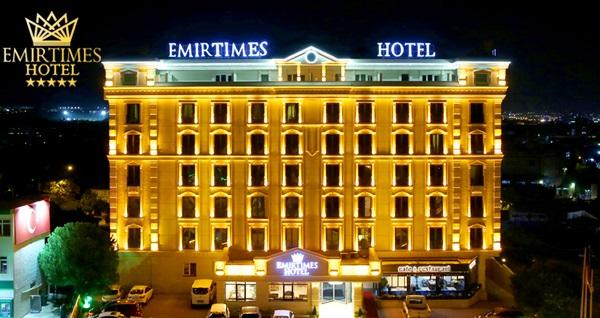 Emirtimes Hotel Tuzla'da çift kişilik 1 gece konaklama seçenekleri
