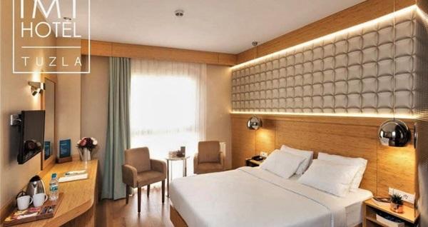 İstanbul Medikal Termal'de çift kişilik odalarda kişi başı 1 gece konaklama seçenekleri 129 TL'den başlayan fiyatlarla! Fırsatın geçerlilik tarihi için DETAYLAR bölümünü inceleyiniz.