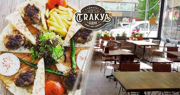 Çankaya Trakya Gurme'de birbirinden leziz iftar menüleri 39,90 TL'den başlayan fiyatlarla! 6 Mayıs - 3 Haziran 2019 tarihleri arasında, iftar saatinde geçerlidir.