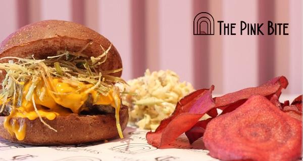 The Pink Bite'den Tadına Doyulmaz Hamburger Menüleri! Fırsatın geçerlilik tarihi için DETAYLAR bölümünü inceleyiniz.