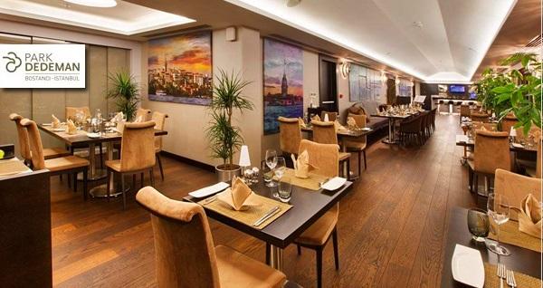 Dedeman Bostancı Adalar Roof Restaurant'ta her Çarşamba gerçekleşen Caz gecesi eşliğinde menüler kişi başı 69 TL'den başlayan fiyatlarla! Fırsatın geçerlilik tarihi için DETAYLAR bölümünü inceleyiniz.