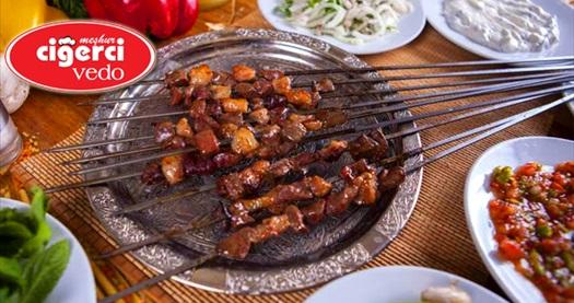 Batıkent Meşhur Ciğerci Vedo'da enfes iftar menüsü 35 TL! 16 Mayıs-14 Haziran 2018 tarihleri arasında, iftar saatinde geçerlidir.