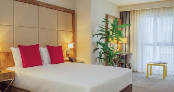 Ibis Styles İstanbul Bomonti Hotel'de çift kişilik 1 gece konaklama 249 TL! Fırsatın geçerlilik tarihi için DETAYLAR bölümünü inceleyiniz.