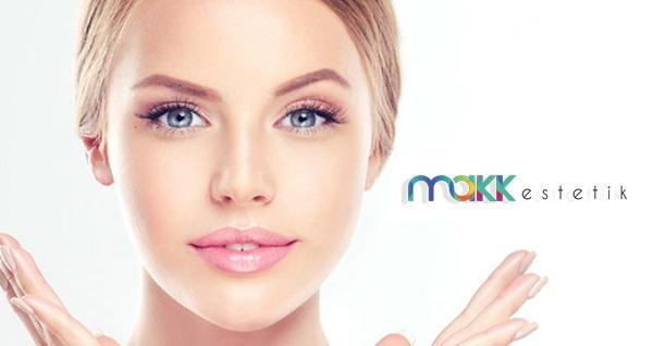 Makk Estetik & Güzellik İcadiye şubesinde geçerli hydrafacial ve Somon DNA'lı cilt bakımı uygulamaları