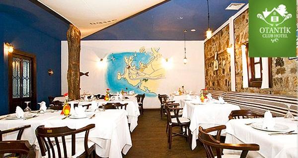 Otantik Club Hotel'de doğa ile iç içe serpme kahvaltı menüsü 49 TL! Fırsatın geçerlilik tarihi için DETAYLAR bölümünü inceleyiniz.