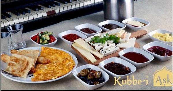 Kubbe-i Aşk'ta muhteşem Boğaz manzarasına nazır enfes serpme kahvaltı menüsü 39,90 TL! Fırsatın geçerlilik tarihi için DETAYLAR bölümünü inceleyiniz.