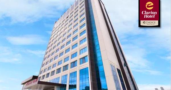 Yüksek konforun adresi 5 yıldızlı Clarion Hotel İstanbul Mahmutbey'de tek veya çift kişilik 1 gece konaklama keyfi269 TL! Fırsatın geçerlilik tarihi için DETAYLAR bölümünü inceleyiniz.