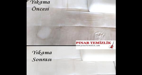 Pınarım Temizlik'ten 15. yılına özel İzmir'in her bölgesine yerinde 8'li koltuk yıkama hizmeti 59 TL'den başlayan fiyatlarla! Fırsatın geçerlilik tarihi için DETAYLAR bölümünü inceleyiniz. İzmir'in tüm bölgelerine servis mevcuttur.