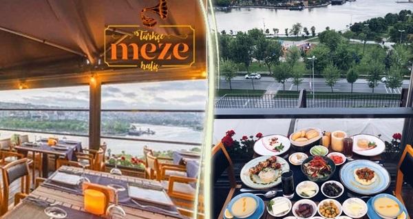 Türkçe Meze Restaurant'ta deniz manzarasına karşı enfes lezzetlerle dolu iftar menüsü 109 TL! Bu fırsat 6 Mayıs - 3 Haziran 2019 tarihleri arasında, iftar saatinde geçerlidir.