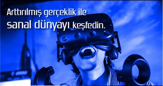 VR İstanbul Sanal Gerçeklik Oyunu 25 TL'den başlayan fiyatlarla! Fırsatın geçerlilik tarihi için DETAYLAR bölümünü inceleyiniz.