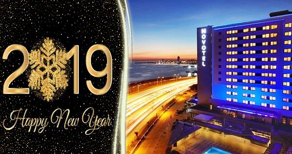Zeytinburnu Novotel İstanbul'da limitsiz yerli içecek eşliğinde Yılbaşı Gala yemeği kişi başı 249 TL! Bu fırsat 31 Aralık 2018 Yılbaşı gecesi için geçerlidir.