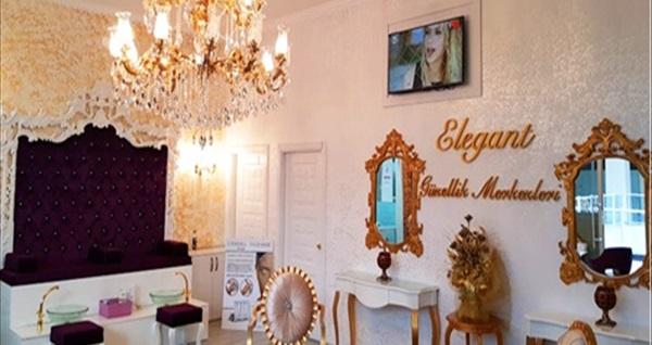 Elegans Güzellik Salonu'nda cilt bakımı, istenmeyen tüylerden kurtulma, soğuk lipoliz uygulaması veya G5 uygulaması 39 TL'den başlayan fiyatlarla! Fırsatın geçerlilik tarihi için DETAYLAR bölümünü inceleyiniz.