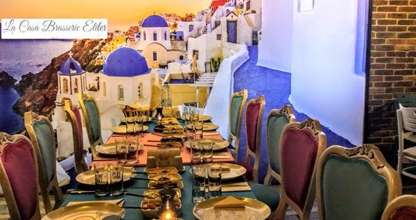 La Casa Brasserie'de 1 kişi için serpme kahvaltı menüsü 29,90 TL! Fırsatın geçerlilik tarihi için DETAYLAR bölümünü inceleyiniz.