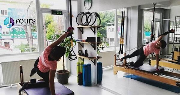 Fours Pilates Studio Bakırköy'de incelmek için reformer pilates paketleri 35 TL'den başlayan fiyatlarla! Fırsatın geçerlilik tarihi için DETAYLAR bölümünü inceleyiniz.