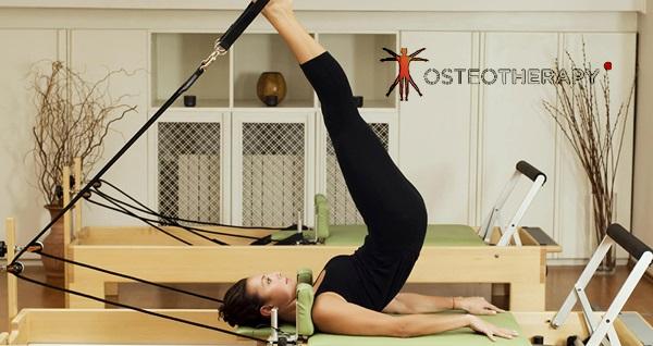 Osteotherapy Sağlıklı Yaşam Merkezi'nde reformer pilates uygulaması 9 TL