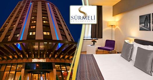 Gayrettepe Sürmeli İstanbul Hotel'de tek veya çift kişilik 1 gece konaklama ve spa keyfi seçenekleri 179 TL'den başlayan fiyatlarla! Fırsatın geçerlilik tarihi için DETAYLAR bölümünü inceleyiniz.