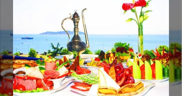 Elite Hotel Küçükyalı'nın Adalar ve deniz manzaralı havuz başında iftar menüsü 75 TL'den başlayan fiyatlarla! Bu fırsat 6 Mayıs - 3 Haziran 2019 tarihleri arasında, iftar saatinde geçerlidir.