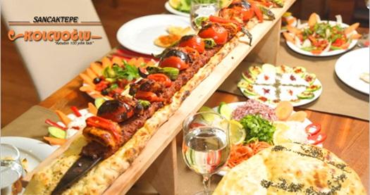 Sancaktepe Kolcuoğlu'nda kebap menüleri 24,90 TL'den başlayan fiyatlarla! 30.9.2016 tarihine kadar geçerlidir.