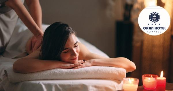 Oran Otel Revival Spa'da rahatlatıcı masaj paketleri 59 TL'den başlayan fiyatlarla! Fırsatın geçerlilik tarihi için DETAYLAR bölümünü inceleyiniz.