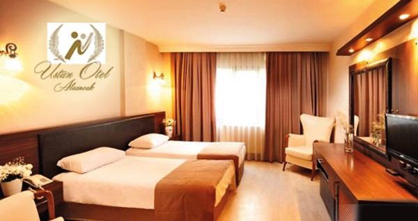 Şeker Bayramı'nda da geçerli İzmir Üstün Otel'de kahvaltı dahil çift kişilik 1 gece konaklama 159 TL! Fırsatın geçerlilik tarihi için, DETAYLAR bölümünü inceleyiniz.