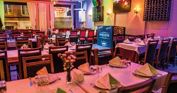 Degustasyon Meyhane'de yerli içecek eşliğinde yemek menüsü 129 TL'den başlayan fiyatlarla! Fırsatın geçerlilik tarihi için DETAYLAR bölümünü inceleyiniz.