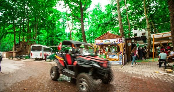 Maşukiye Vadi Zipline'da sınırlı sayıda ATV safari, UTV turu ve zipline aktiviteleri 24,90 TL'den başlayan fiyatlarla! Fırsatın geçerlilik tarihi için, DETAYLAR bölümünü inceleyiniz.